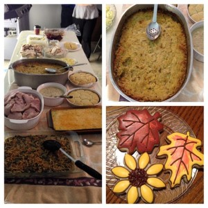 Thanksgiving ala buffet