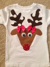 Girl Reindeer