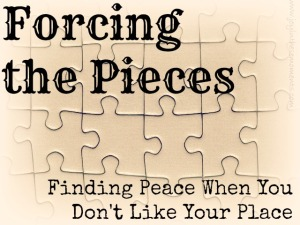 Forcing the Pieces @joyinthesemoments.com