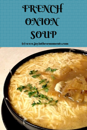 French Onion Soup @joyinthesemoments.com