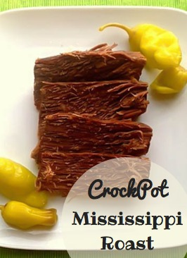 Crockpot Mississippi Roast I Gluten Free with Southern Charm
