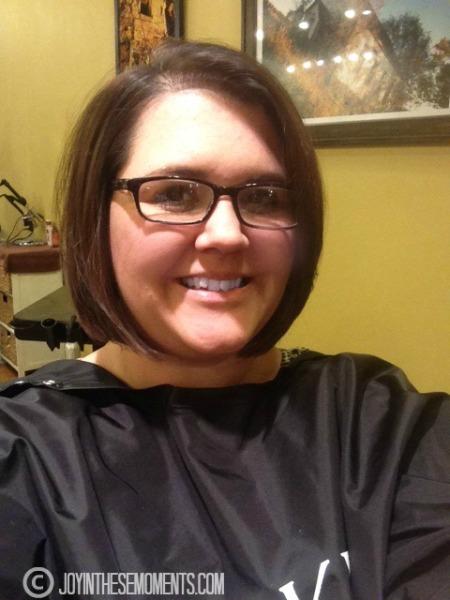 I Gave Away My Hair @Joyinthesemoments.com
