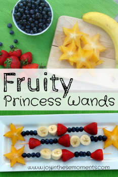 Fruity Princess Wands @Joy in These Moments